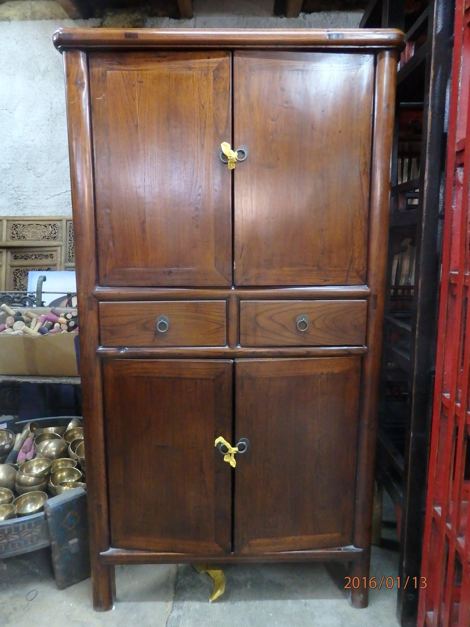 Armoire comptoir de java toulouse meubles objets for Meubles asiatiques anciens