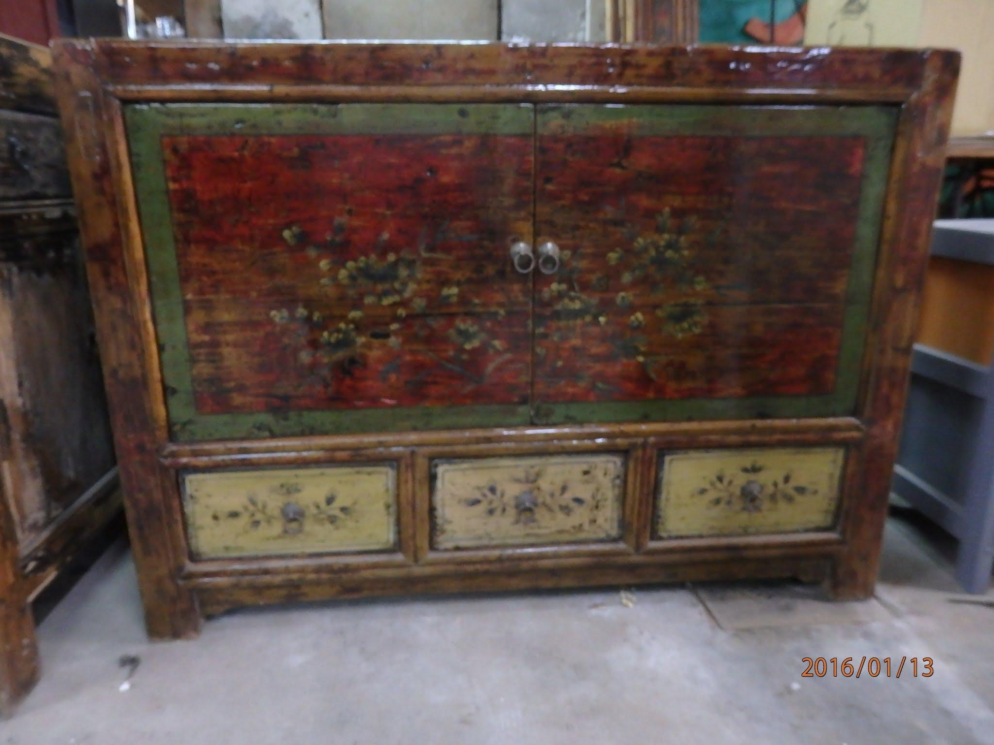 Bahut comptoir de java toulouse meubles objets asie for Meubles asiatiques anciens