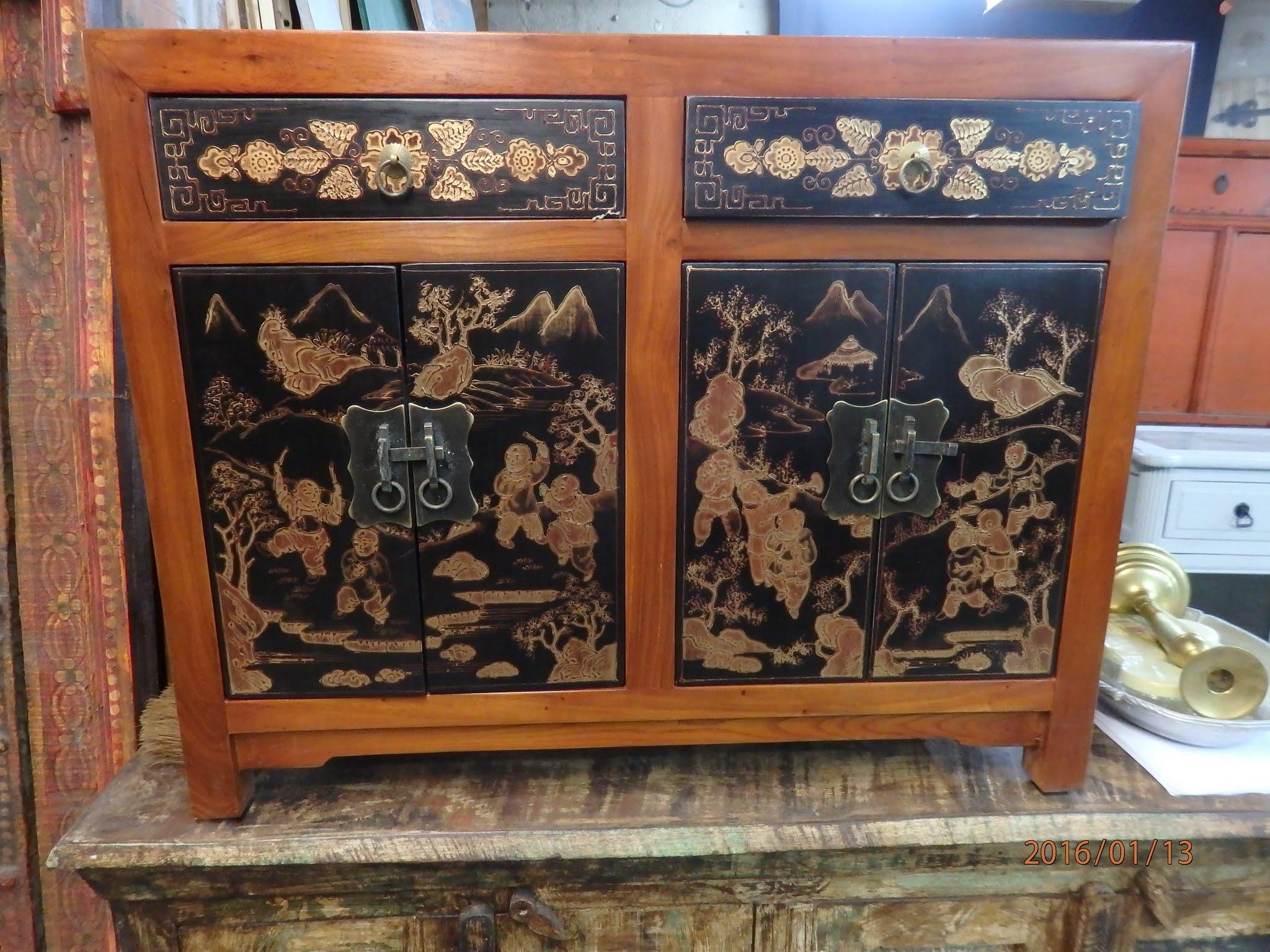Bahut comptoir de java toulouse meubles objets asie for Comptoir du carrelage toulouse