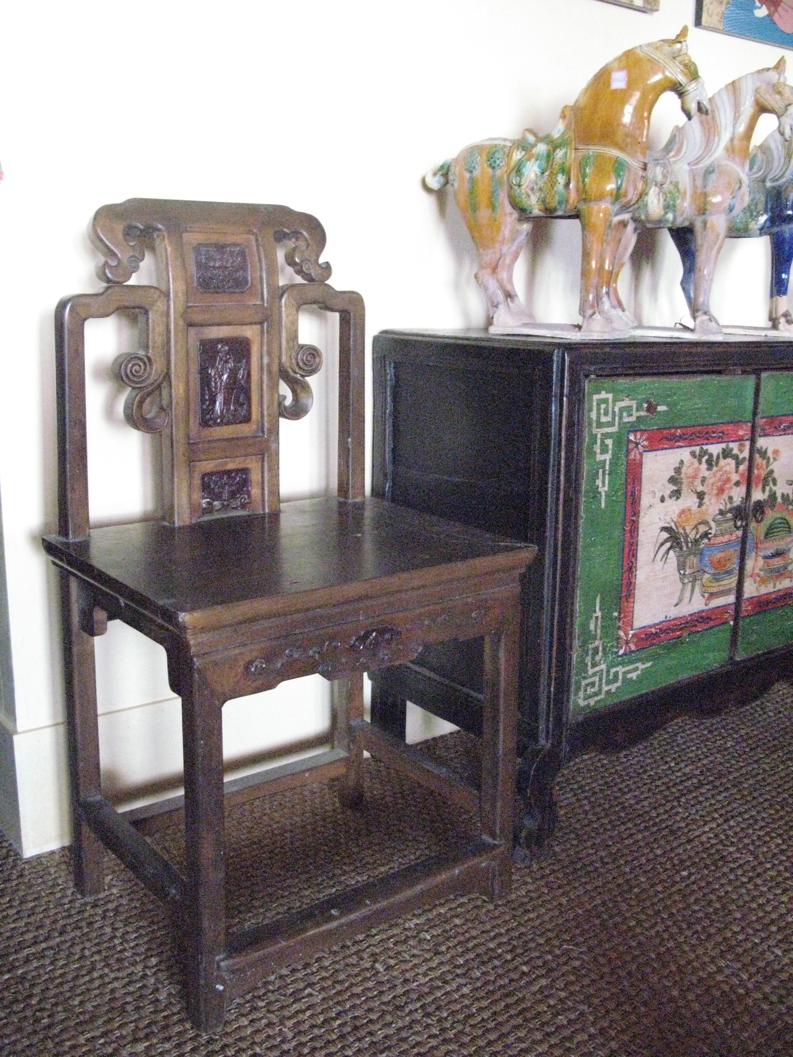 Chaises comptoir de java toulouse meubles objets for Meubles asiatiques anciens